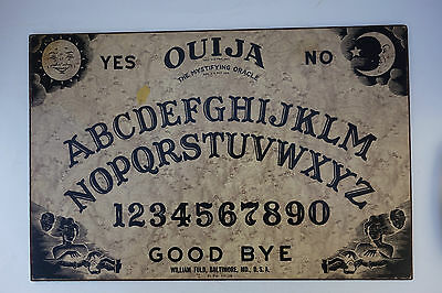 Vintage WILLIAM FULD Ouija board-from early 1960s-Mass. Planchet-PLEASE READ ALL