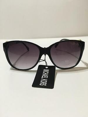 NEW Authentic Michael Kors Women Sunglasses (BLACK/GOLD-MATE)