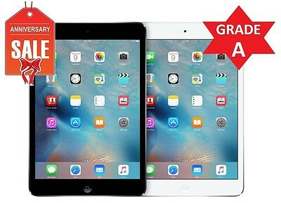 Apple iPad Mini 2nd Gen 128GB Wi-Fi + ATT (UNLOCKED) Space Gray Silver White (R)