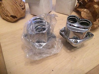 Harley Davidson Chrom Tappet Guide Lifter Block Set EVO 1984 - 1999