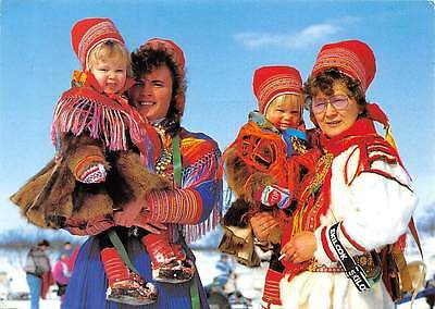 Norway Traditional Dress of the Sami People Samedrakt