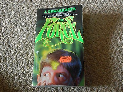 J Edward Ames - The Force - Horror Paperback Book