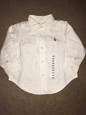 Ralph Lauren Baby Boys Shirt 12M New Without Tags