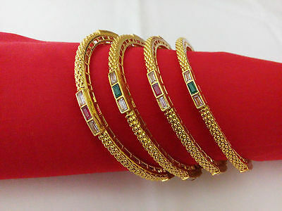 latest Indian Fashion Jewelry Bangle bollywood ethnic gold plated traditional