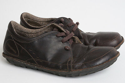 PATAGONIA Men's US 11 EU 44 - Loulu Casual Shoes in Velvet Brown Leather