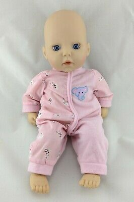My First Baby Annabell Pink Doll Clothes Flamingo Sleepsuit Jumpsuit & Hat