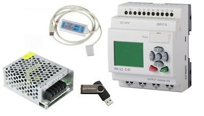 Industrial Automation Programming Analog Digital Control PLC Traning Course Kit