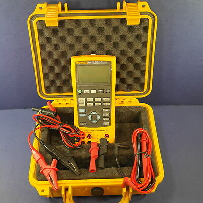 New Fluke 725 Multifunction Process Calibrator, Hard Case, Accessories
