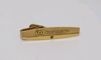 New Jersey Bell 12k Gold Filled Tie Clip Clasp Balfour