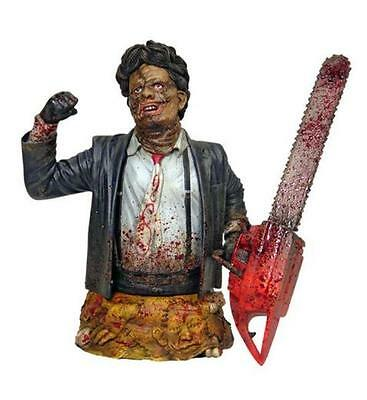 TEXAS CHAINSAW MASSACRE Part 2 Gentle Giant - LEATHERFACE Mini Bust MIB 618/1000