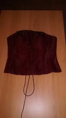 Women's Red Corset brand new with tags Size 12