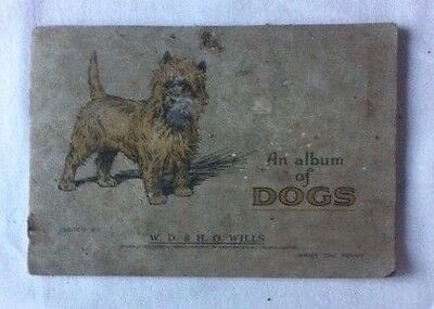 1930s Wills 'Album of Dogs' and 48 of 50 Cards