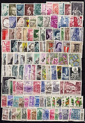 Austria big lot used stamps