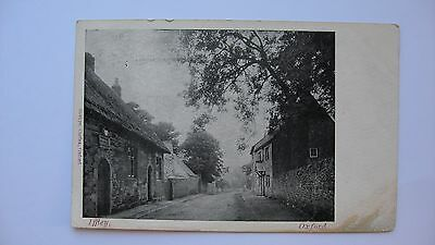 Old Vintage Postcard Iffley, Oxford 1906 real photograph