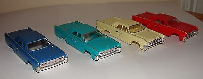 Lot 4 Motorific body Lincoln Continental all 4 colors