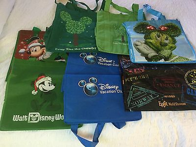 Disney - Eight Small Shopping Bags