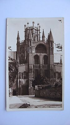 Old Vintage Postcard Lantern Tower, Ely Cathedral. Starr & Rignall real photo