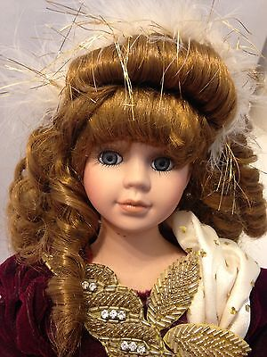 """Porcelain Doll By Show Stoppers Inc 17"""""""