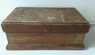 Vintage Wooden Box, a refurbished project? Circa 1930s