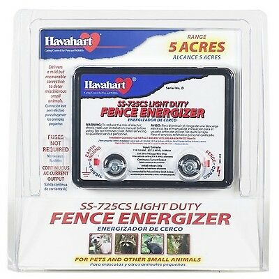 Fi-Shock SS-725CS AC Powered Light-Duty Electric Fence Charger 5-Acre Range 1