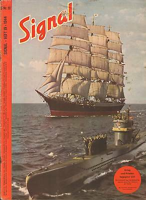 Electronic publication (PDF) Signal magazine No 19 from 1944 german edition