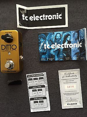 """Pedale Ditto Looper Gold """"edition limitée"""""""