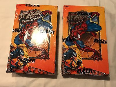 1995 Fleer Ultra Spider-Man Premiere Edition Factory Sealed Box SEE DESC BELOW
