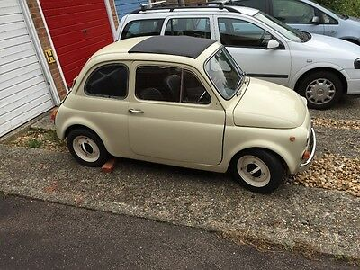 Fiat 500L Classic. Original Uk Rhd Car. 1972, Only 3 Previous Owners