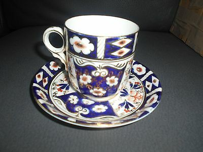 imari patten cup and 2 saucers sutherland pottery