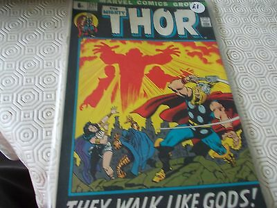 Thor 203.Marvel 70s issue