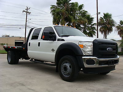 2012 Ford F-450 Crew Cab 11' Flat Bed 2012 Ford F-450 Crew Cab, 6.7L Dieasel, 11' Flat Bed, 1 Texas Owner