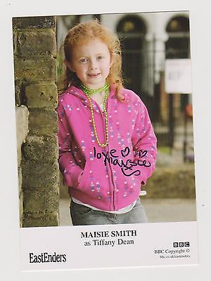 MAISIE SMITH.. EASTENDERS (Tiffany Butcher)..HAND SIGNED PROMO PHOTO