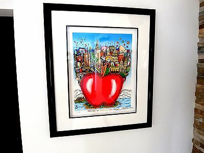 CHARLES FAZZINO BALLOONS AND BUTTERFLIES OVER NY 3D Pop Art