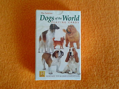 Famous Dogs of the World Playing Cards   Brand New & Sealed