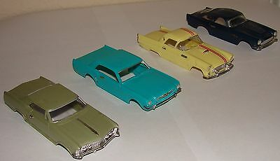 Lot 4 Motorific bodies Mustang Thunderbird  ++