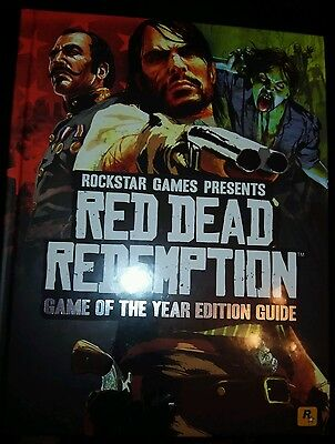 Red Dead Redemption Game of the Year Strategy Guide (Hardback, new, sealed)