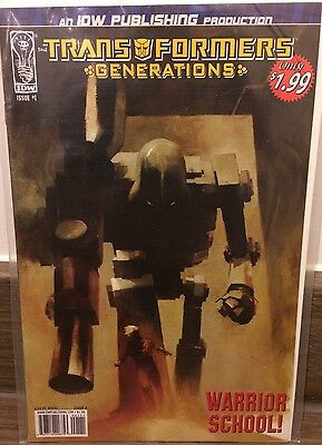 Transformers: Generations #1 - Cover A - Idw Comics 1St Print