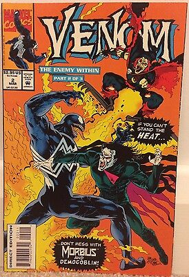 VENOM: THE ENEMY WITHIN • Issue 2 • Marvel Comics