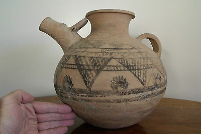 LARGE INDUS VALLEY POTTERY VESSEL. Thermoluminescence Tested Circa 1300 B.C.E