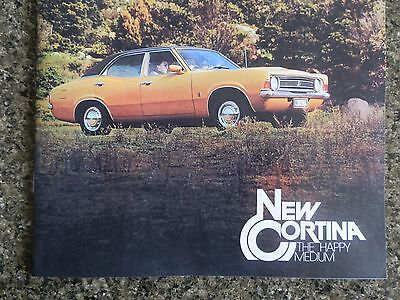 1975 Ford Cortina Sales Brochure.