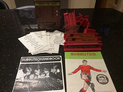 Subbuteo 1970's Job Lot - Scoreboard and Accessories Used for Spares. Bargain