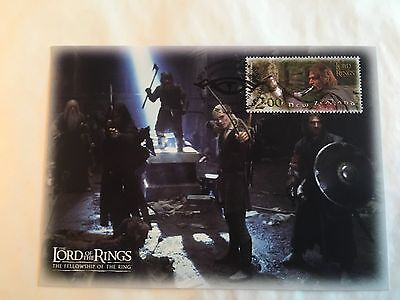 Lord Of The Rings New Zealand Nz Maxi Cards 2001 Fellowship Balin's Tomb Boromir