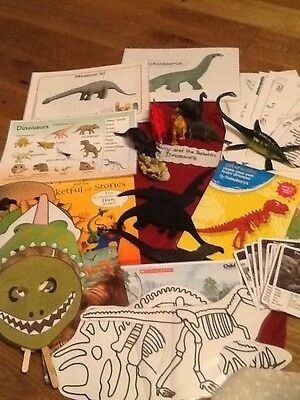 Harry and the bucketful of dinosaurs story sack