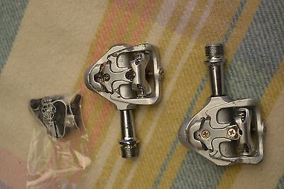 Wellgo Magnesium MG-8 Road Bike Pedals Clipless SPD including Cleats