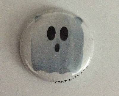 DEVAST8 1-inch BADGE Button Pin Ghost Toon NEW OFFICIAL MERCHANDISE Paranormal