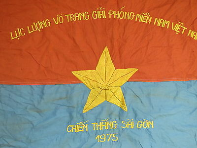 independence day Battle Flag , 1975 Spring Offensive , Liberation of Saigon 1975