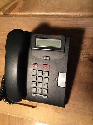 T7100 Nortel Norstar Charcoal Avaya Business Telephone Phone