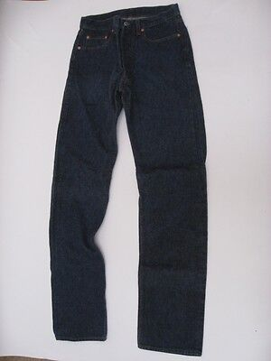 Vintage Levi's 501 Jeans USA MADE Very Dark Color Tag Size 33 X 38