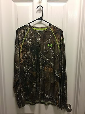 Under Armour Realtree Long Sleeve Shirt Size Large