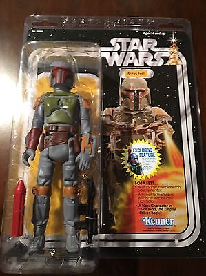"Star Wars Gentle Giant Jumbo 12"" Vintage Kenner Rocket Firing Boba Fett"